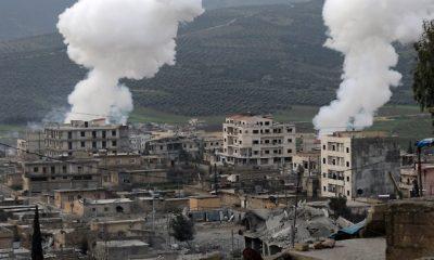 Erőszakos légi csapások Szíriában