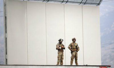 Fal építése az USA és Mexikó határán