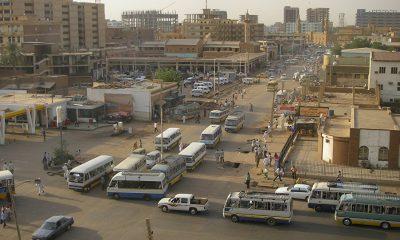 A város részlet előre mutató képet fest Szudánról