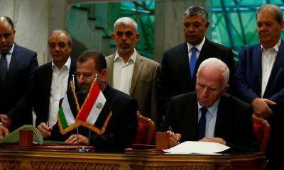 A Hamász és a Fatah aláírja a békemegállapodást