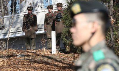 Észak-koreai katonák menekülése