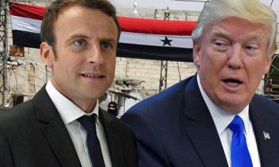 Macron felhívása Trump felé