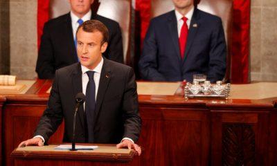 Macron beszéde