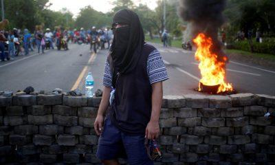 Német önkéntesek távozása Nicaraguából
