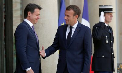 Macron és Conte együttműködése menekültügyben
