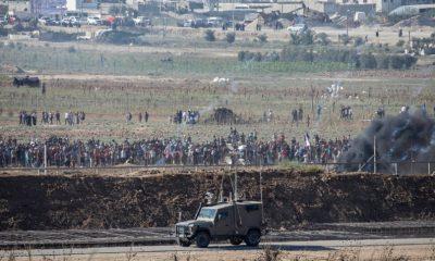 A Gázai övezet személyforgalmi átkelőhelyének lezárása Ereznél
