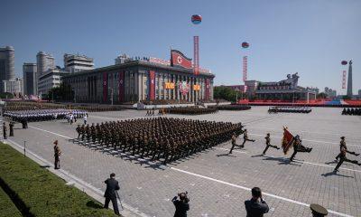 Két dolog is feltűnően hiányzott az idei észak-koreai katonai parádéról