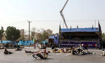 Támadás történt a katonai felvonuláson Iránban