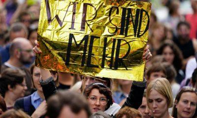 Újabb tüntetések Chemnitzben