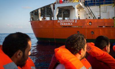 Ismételt problémák az Aquarius mentőhajóval kapcsolatban
