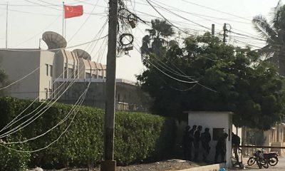 Kínai konzulátus megtámadása
