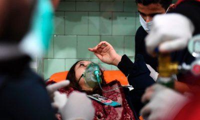 Mérgesgáz támadás érte Aleppót