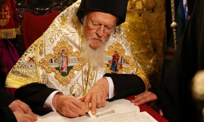 Konstantinápolyi pátriárka elismeri Ukrajna új ortodox egyházát