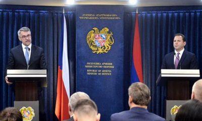 Katonai együttműködés Csehország és Örményország között