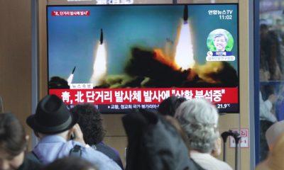 Észak-Korea újabb rakétákat lőtt ki a tengerbe
