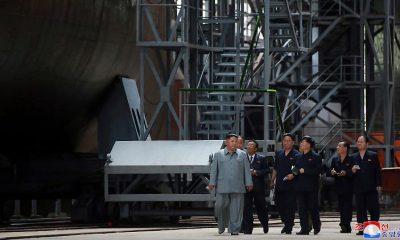Új észak-koreai tengeralattjáró