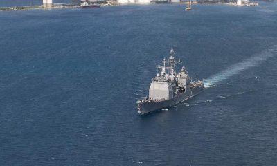 Peking aggodalma a Tajvani-szoroson átkelő amerikai hadihajó miatt