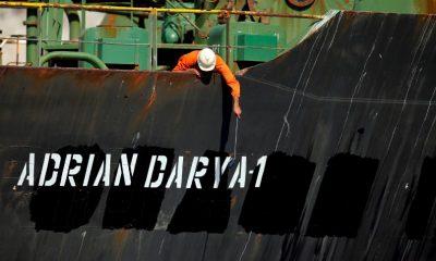 A Gibraltárnál lefoglalt iráni tartályhajó Törökország felé tart