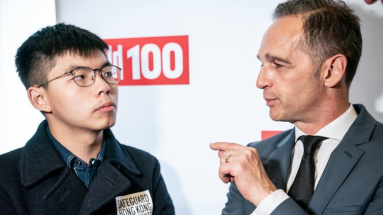 Peking fenyegeti Berlint a hongkongi aktivista miatt