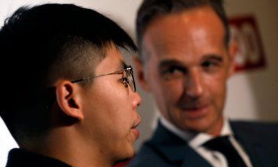 Joshua Wong hongkongi aktivista
