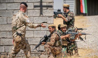 Az észak-iraki autonóm kurd régió szerint a Bundeswehrnek a térségben kell maradnia