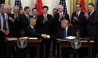 Az USA és Kína aláírják a kereskedelmi megállapodást