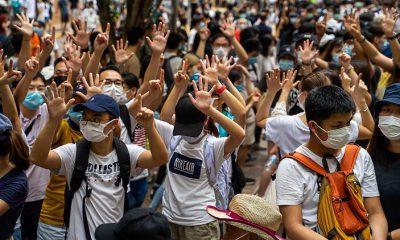 Maas fenyegeti Kínát Hongkong miatt